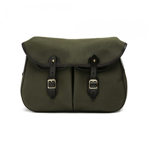 Brady Ariel Trout Canvas Small Bag Olive