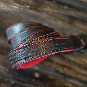 [Luigi's] Neck Strap Tazio (no Pad) Black&Red