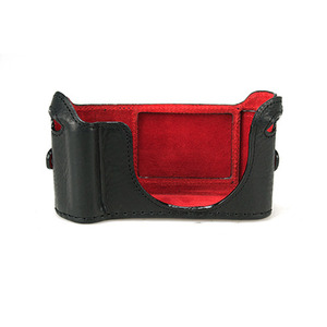 [루이지] Half case Black for Leica NEW X Grip Case